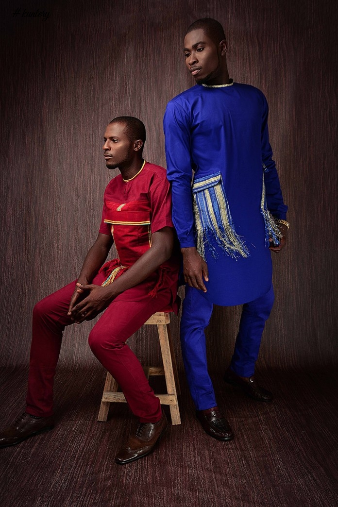 Nigerian Designer Ifi Alexander Presents The Look Book For His Pre-Fall 2017 Collection Titled 'Tears'