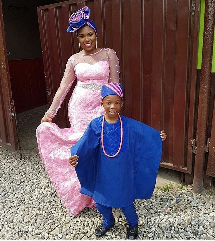 MOTHER & CHILD ASO EBI STYLE