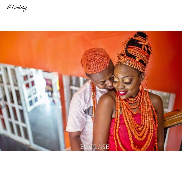 THE EDO/ YORUBA WEDDING OF FRANCES AND AYO