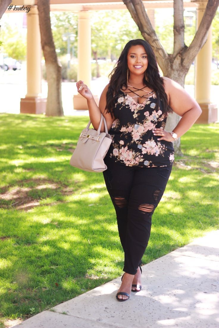 STYLISH CURVY DIVAS WEEKEND OUTFITS INSPIRATION