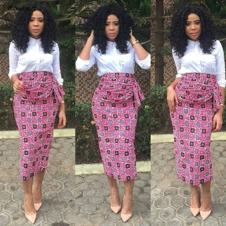 CHECK OUT THE LATEST AND HOTTEST RHINESTONE EMBELLISHED ANKARA