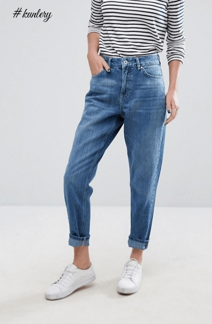 NEW FASHION TREND ALERT: THE MOM JEANS