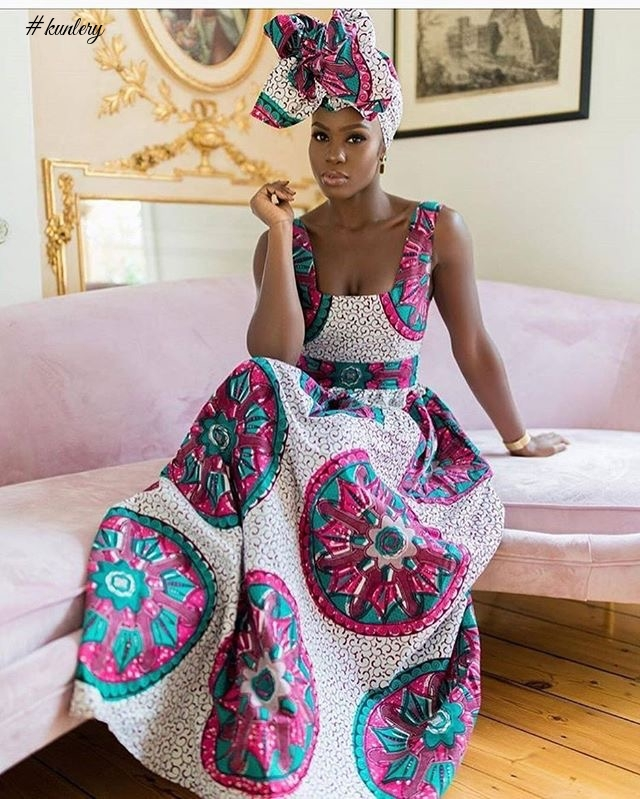 166f3ed325da CHECK OUT THESE BEAUTIFUL ANKARA STYLES