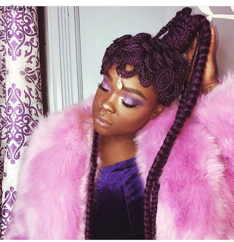 ROCK THIS CHRISTMAS WITH THESE EYE-POPPING BRAIDED HAIRSTYLES
